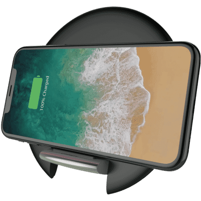 Prime Wireless Desk Charger - Black